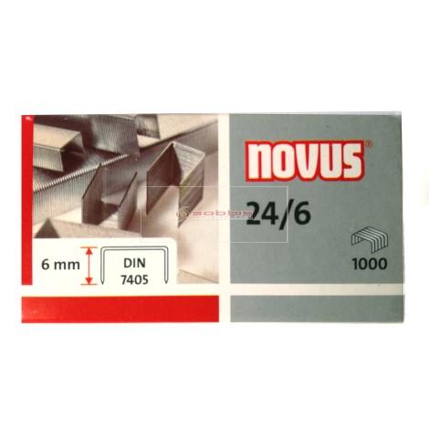 AGRAFES 24-6 NOVUS  …PAQ(20)=