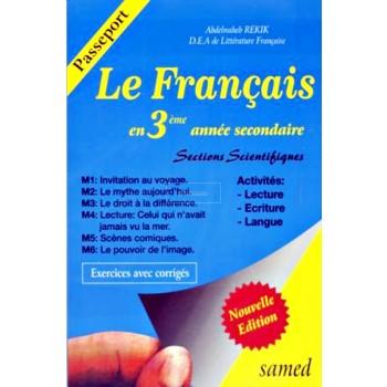 3, FRANCAIS EN 3° PASSEPORT(SCIENTIFIQUE