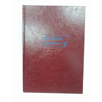 REGISTRE COMPTABLE 200P NUMEROTE