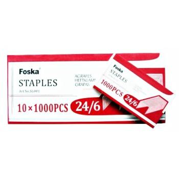 AGRAFES 24-6 FOSKA ....PAQ(10)=