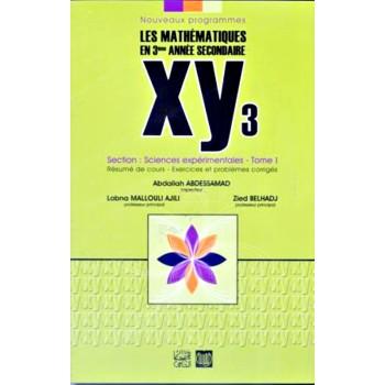 3, XY3 MATH PLUS (SCIENCES EXP) T1