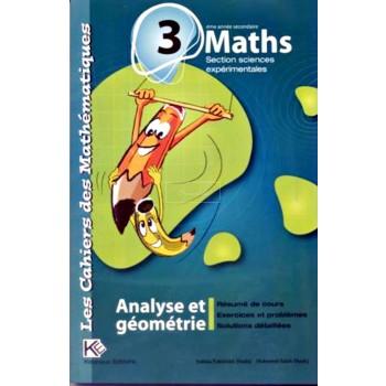 3, LES CAH MATHS ANAL/GEO(SC EXP)