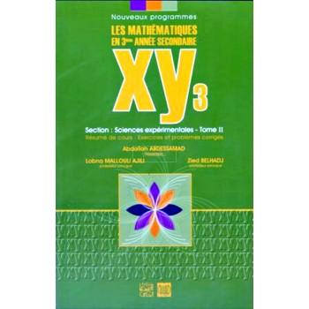 3, XY3 MATH PLUS (SCIENCES EXP) T2