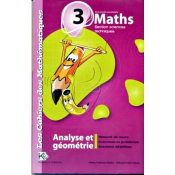 3, LES CAH MATHS ANAL/GEO(TECHN).