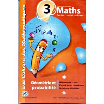 3, LES CAH MATHS GEO/PROB(MATHS)