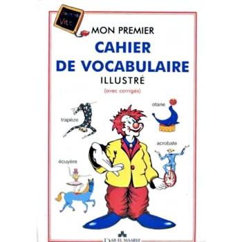 MON PREMIER CAH DE VOCABULAIRE MAARF