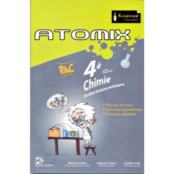 4, ATOMIX CHIMIE SECTION TECHNIQUES