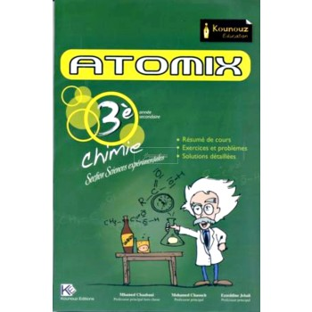 3, ATOMIX CHIMIE (SECTION SCIENCES EXP)