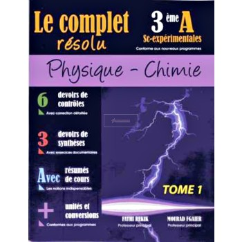 3, LE COMPLET PHY-CHI (SCIENCES) T1