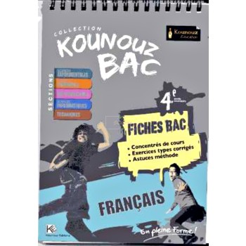 4, KOUNOUZ FICHE BAC FRANCAIS(SCIENTIFIQ