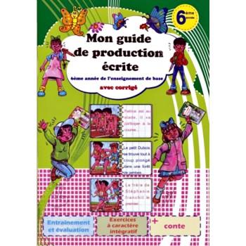 6/ MON GUIDE DE PRODUC ECRITE