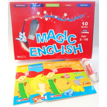 MAGIC ENGLISH PEN LEARNING 3-10