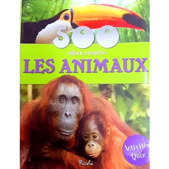 500 infos - les animaux