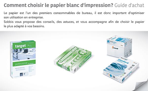 Comment choisir le papier blanc d'impression ?